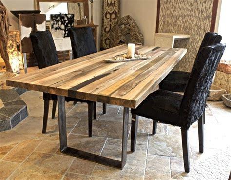 Tisch Aus Recyceltem Holz by Esstische Der Tischonkel Esstisch Tischplatte Aus