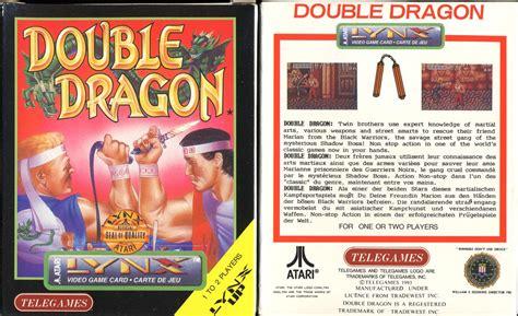 double dragon dojo double dragon atari lynx version review