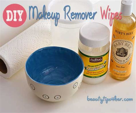 Diy Waterproof Makeup Remover Wipes Natural Beauty Skin Care