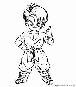 Dessin Anim Gratuit Dragon Ball Z Az Coloriage