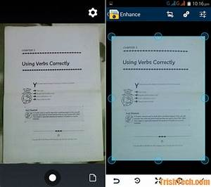 how to use android phone as document scanner With smart document scanner