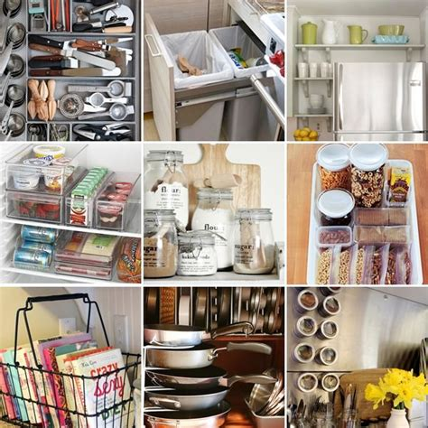 Simple Ideas To Organize Your Kitchen • The Budget Decorator