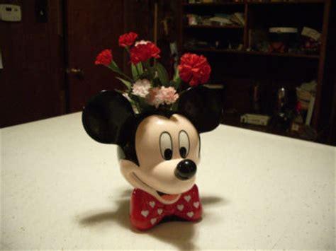 newyork marked disney mickey mouse ceramic vase