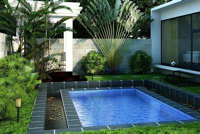 kolam kecil minimalis studio desain rumah jakarta