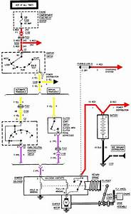 Starting System Wiring Diagram Of 1995 Chevrolet Cavalier  59666
