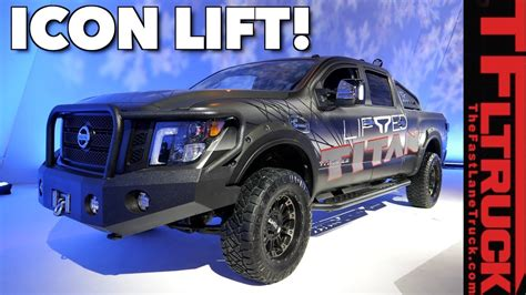 nissan titan xd shows   factory approved lift