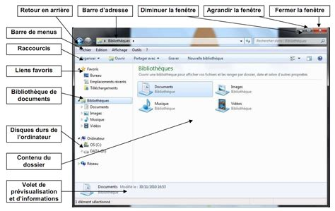 Afficher Licne Ordinateur Poste Application Bureau Windows 7 Bureau Windows 7 Astuces