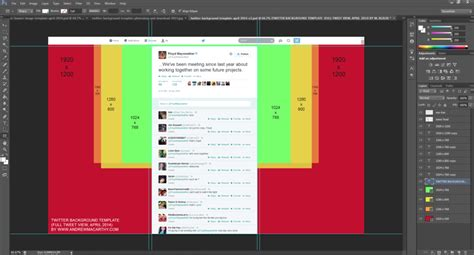 Twitter Feed Photoshop Template by New Twitter Background Template 2014 Psd 1920 X 1200