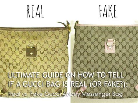 ultimate guide       gucci bag  real  fake case study comparing  real