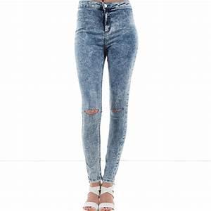 Jean Bleu Troué Femme : j ai trouv un jean adapt mon style sur jean ~ Melissatoandfro.com Idées de Décoration