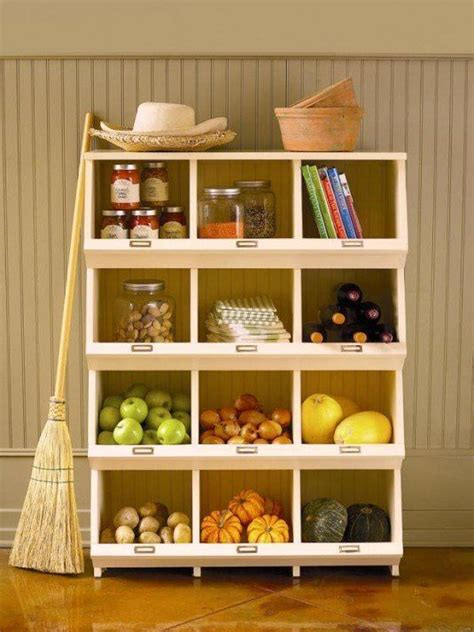 kitchen vegetable storage 25 insanely clever storage solutions for fruits and vegetables 3434