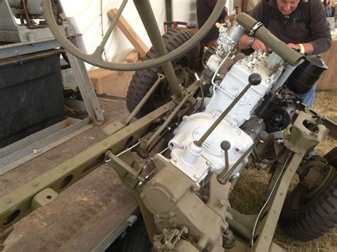Clutch linkage and back of transmission | Willys Jeep ...