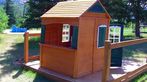 Backyard Play House by Big Backyard Bayberry Ready To Assemble Wooden Playhouse