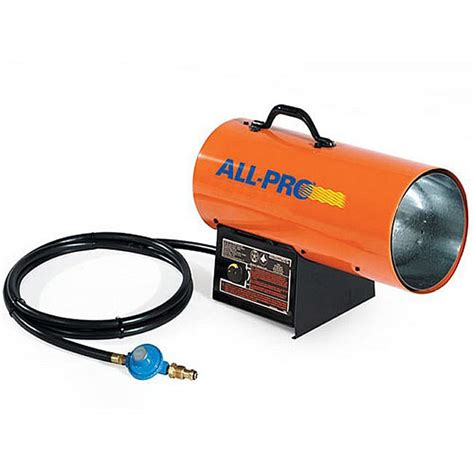 all pro 40 000 btu propane forced air heater free