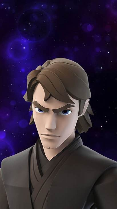 Anakin Skywalker Wars Star Infinity Disney Codes