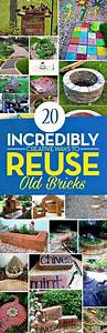10 Ways to Repurpose Old Bricks Popular pins, Repurpose