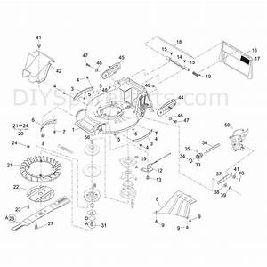 Shanks 448kjr  448kjr  Parts Diagram  Deck  Transmission  Blade