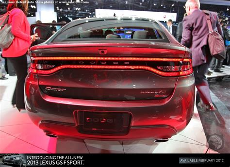 Alfa Romeo Giulietta Dodge Dart by Detroit Auto Show Live Can You See The Dart