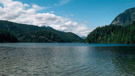 Buntzen Lake Hiking Near Port Moody, Bc