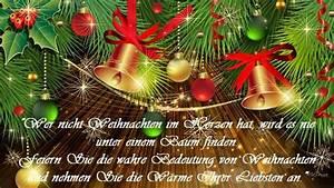 Schöne Weihnachten Grüße : frohe weihnachtsgr e 2019 nette sch ne kurze besinnliche ~ Haus.voiturepedia.club Haus und Dekorationen