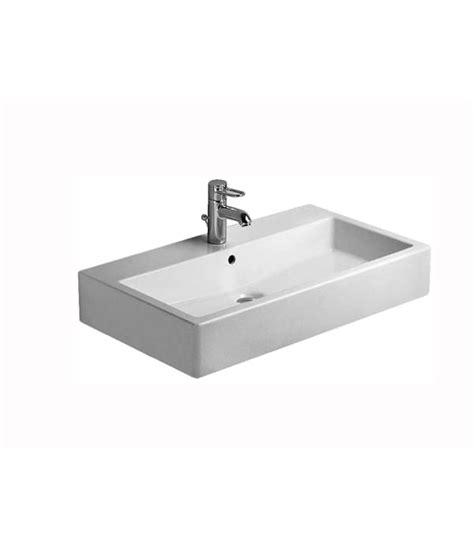 duravit fogo 750mm vanity unit with 800mm vero basin