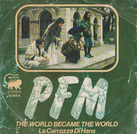 la carrozza di hans premiata forneria marconi the world became the world