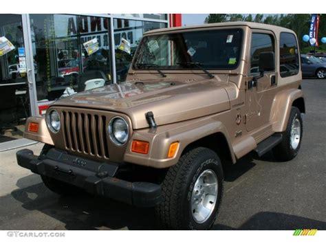 desert jeep wrangler 2000 desert sand pearl jeep wrangler sahara 4x4 33674102