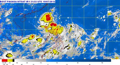 Pagasa — administration des services atmosphériques, géophysiques et astronomiques des philippines pagasa agence de remplacement bureau météorologique des philippines directeur. PAGASA Weather Forecast July 20, 2012   Blogging a Blog