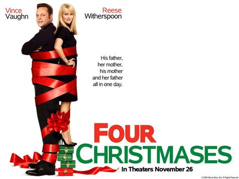christmas movies four christmas poster wallpaper comedy