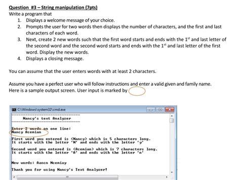 solved write  program  displays   message