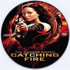 The Hunger Games: Catching Fire DVD Label (2013) R0 Custom Art