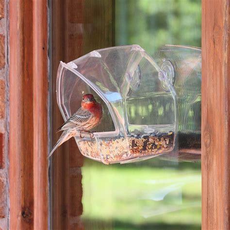birdscapes clear window feeder 348