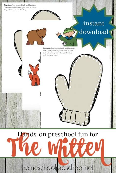 free the mitten printables free homeschool deals 534 | 1aff 112 684x1024