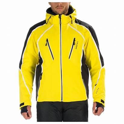 Ski Yellow Jacket Mens Alpes Hyra Blazing