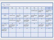Business Calendar Business calendar example How to