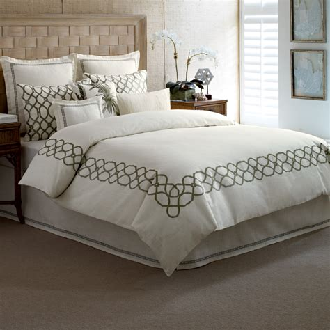 Bahama Bedding by Bahama Trellis Palm Green Bedding Collection From