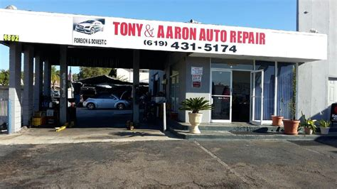 tony aaron auto repair auto repair  el cajon