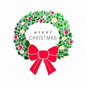 Merry Christmas Wreath Vector Pictures, Photos, and Images ...