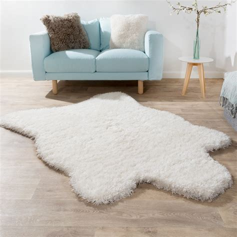 flokati teppiche pile rug faux fur polar flokati style