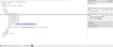 stylesheet css agent user fighting chrome google