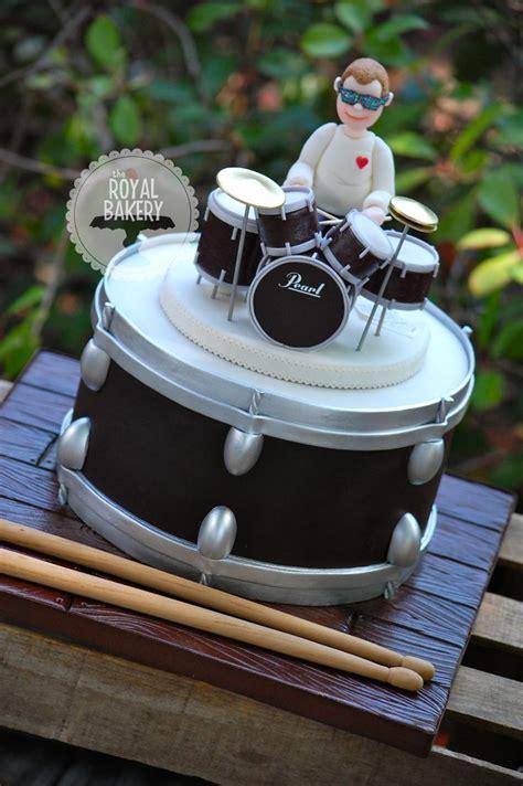 drum kit groom s cake drum cakes birthday
