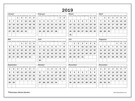 afdrukbare kalender kalender