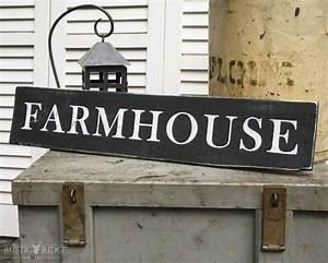 Farmhouse Sign - Country Decor - Handmade - Reclaimed Wood