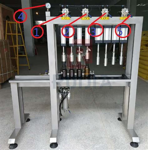 manual beer bottling machine shandong ruijia brewing technology