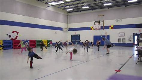 Kindergarten Dance Cha Cha Slide  Physical Education Class Youtube