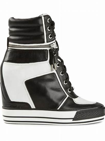 Wedge Dkny Sneakers Griffin Concealed Varsity Shoes