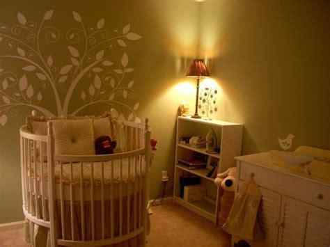 Babybett Im Elternschlafzimmer by Rundes Babybett F 252 R Ein Gem 252 Tliches Babyzimmer