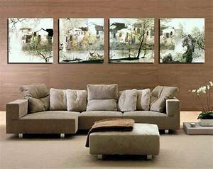 Ideas for decorating a large wall in living room home for Large wall decorations living room