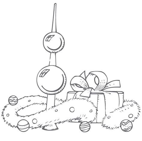 dessin deco noel imprimer coloriage de boule de noel