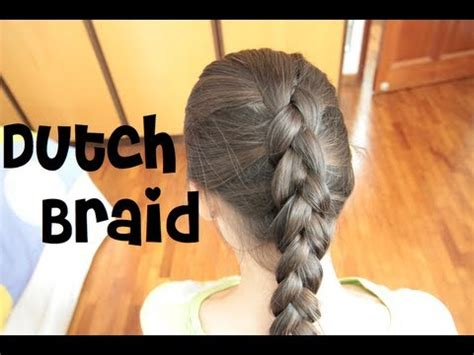 dutch braid   youtube